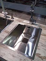 Мойка  Fabiano Quadro 38 S/Steel 1,2 мм нержавеющая сталь