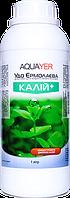 Удобрения для растений КАЛИЙ+ 1Л, препарат для растений, AQUAYER Удо Ермолаева  в аквариум