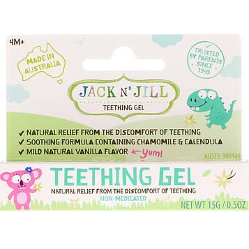 Jack n Jill, Teething Gel, 4+ Months, 0.5 oz (15 g)