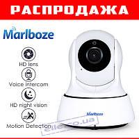 Акция! Беспроводная поворотная IP камера Marlboze HD 1MP 720P WIFI с ночным режимом и датчиком движения!