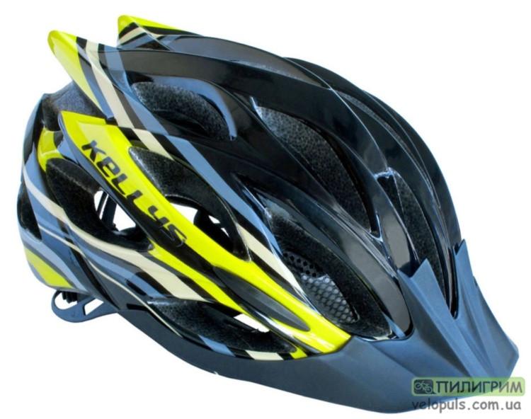Шлем - KLS Dynamic Black\Yellow M/L (58-61 см.)