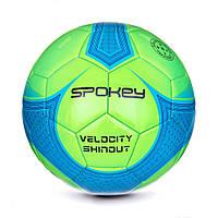 Футбольный мяч Spokey Velocity SHINOUT размер 5 GreenBlue, КОД: 199273