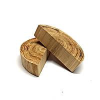 Половина среза (спила) шлифованного без коры 10-12см