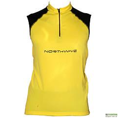 Веломайка - NorthWave Force Jersey SL Yellow (уценка) L