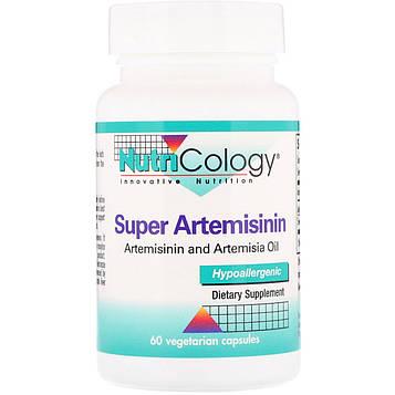 Nutricology, Super Artemisinin, 60 вегетарианских капсул