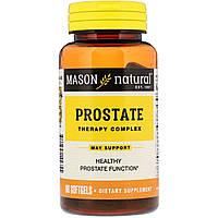 Mason Natural, Комплекс для лечения простаты, 60 мягких таблеток