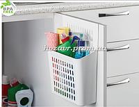 Навесной органайзер на дверку кухни (белый)