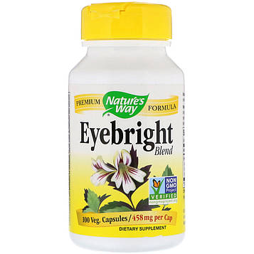 Natures Way, Eyebright Blend, 458 mg, 100 Veg. Capsules