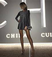 Женское стильное красивое нарядное платье