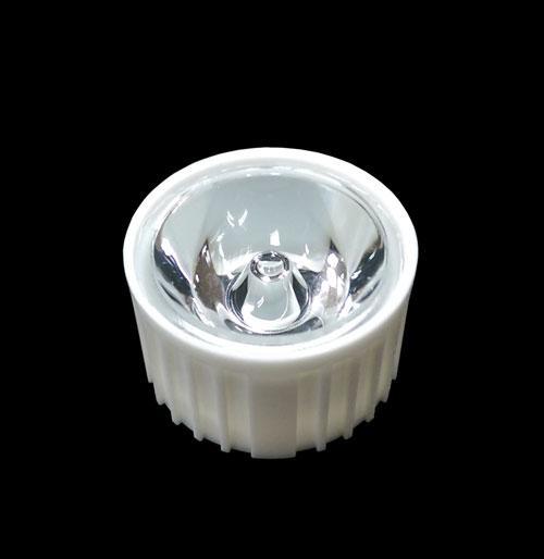 Линза HX-20-15 білий корпус 15 градусів для світлодіодів standard emitter 1-3Вт 2259