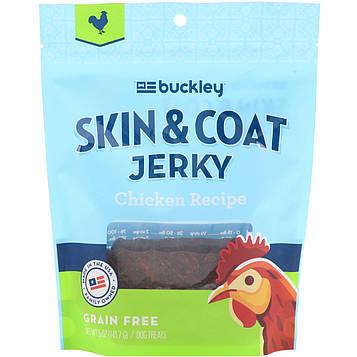 Buckley, Skin & Coat Jerky, Chicken, 5 oz (141.7 g)
