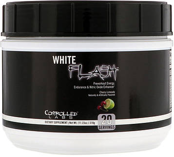 Controlled Labs, Белая вспышка, вишневый лаймад, 11,23 унции (318 г)