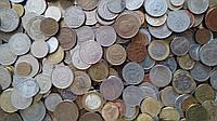 Монеты мира оптом на вес от 0,5кг.