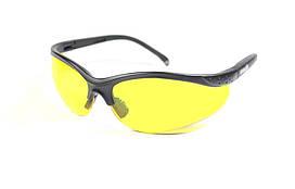 Тактические очки Strelok #1. Защитные очки тактические. Янтарные стекла