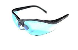 Очки для стрелков, для военно-спортивных игр, тактические очки Strelok #1-4. Спортивные очки, голубые линзы