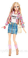 "Кукла Барби ""Модница Делюкс""  (Barbie Style Floral Jacket Doll)"