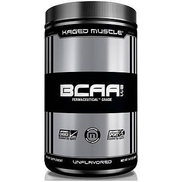 Kaged Muscle, Аминокислоты с разветвленными боковыми цепями (BCAA) в соотношении 2:1:1, без ароматизаторов, 14,1 унции (400 г)
