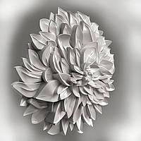 Зd модель цветок в STL формате