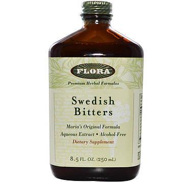 Flora, Шведские горькие настойки (Swedish Bitters), 250 мл