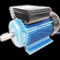 Асинхронный электродвигатель 2800 об. 1.5 кВт 220В Eurotec AT126 однофазный двигатель переменного тока 3000 об, фото 1