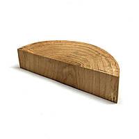 Половина среза (спила) шлифованного без коры 22-24см