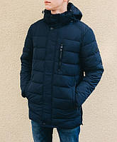 Зимняя куртка INDACO IC657C Темно-синий, фото 1