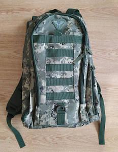 Тактичний рюкзак 20 український піксель (рюкзак тактичний військовий камуфляжний цифра ЗСУ)