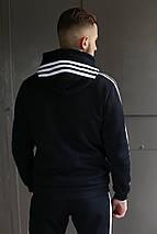 Мужской спортивный костюм Adidas (зима), фото 3