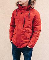 Зимняя куртка INDACO IC687F Красный, фото 1