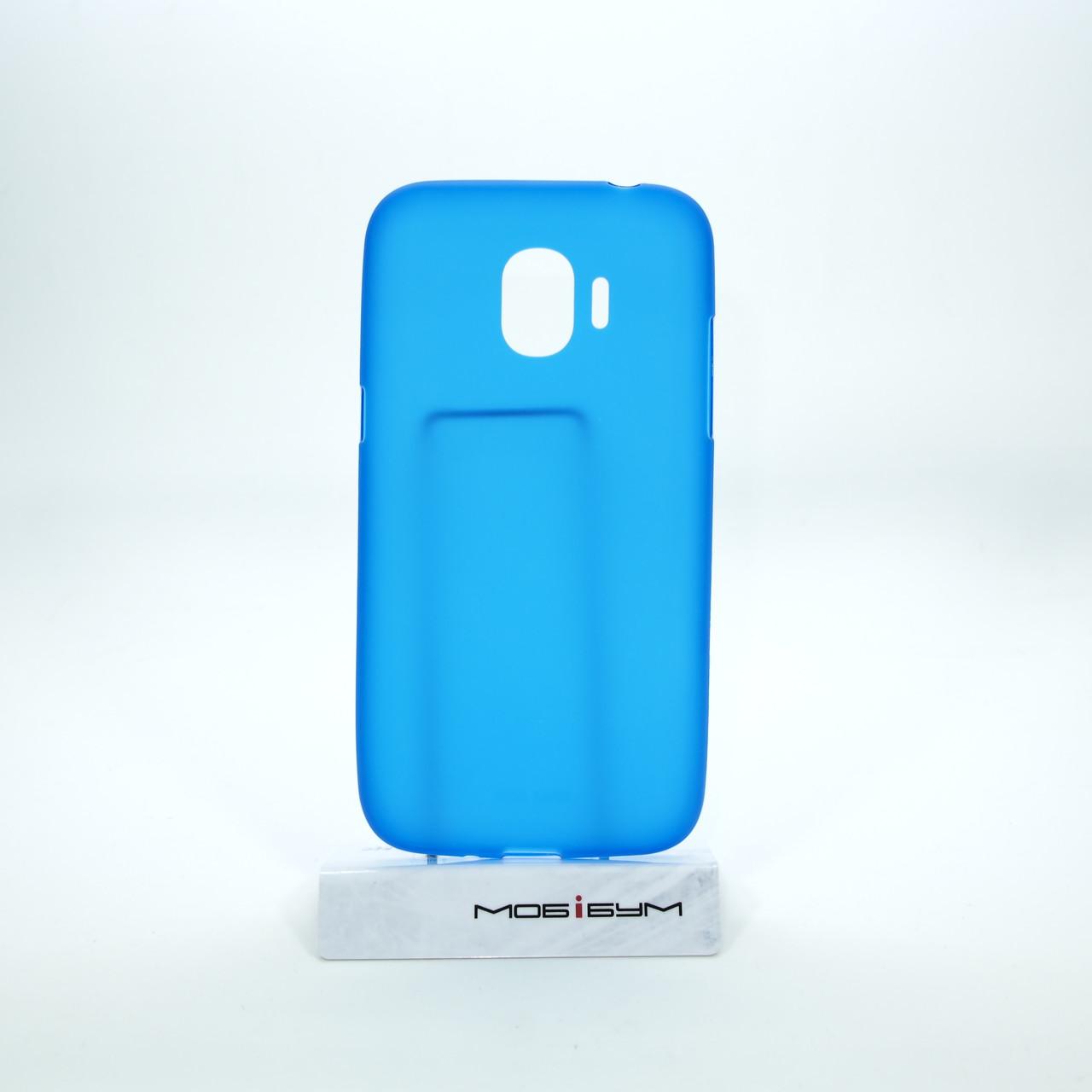 Чехол TPU Samsung Galaxy J250 blue
