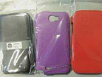 Чехол -флип Ozaki для Samsung Galaxy Note 2 N7100 черный