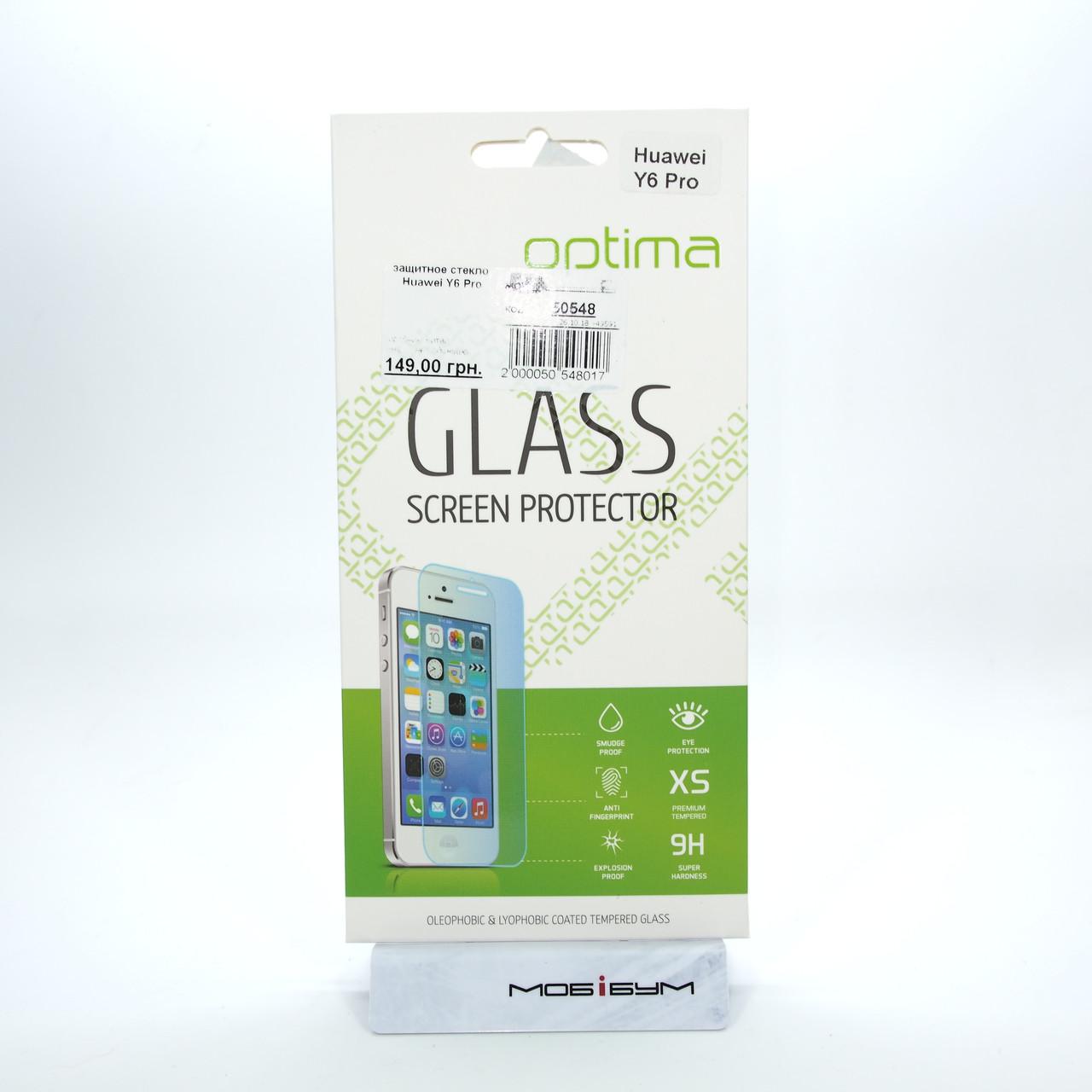 Защитное стекло Huawei Y6 Pro