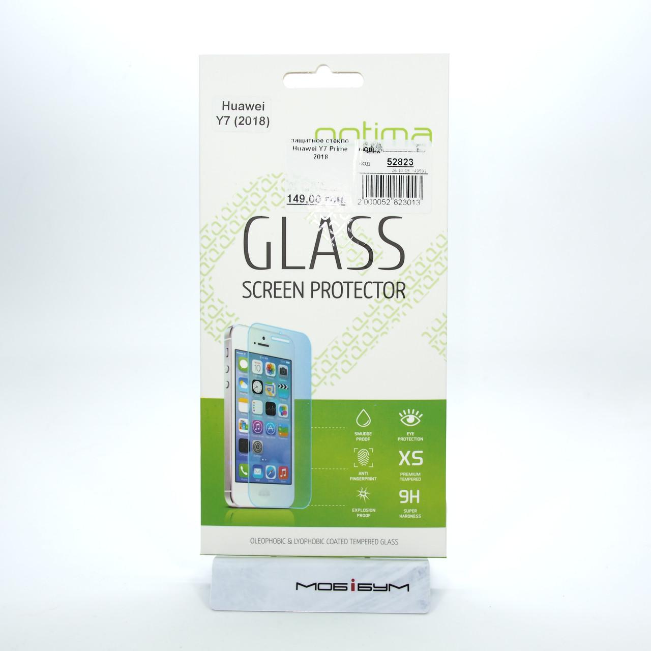 Защитное стекло Huawei Y7 Prime 2018