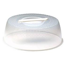 EMGA 059. 001 Круглый прозрачный пластиковый колпак баранчик с ручкой, 320мм 1 шт