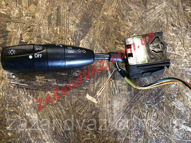 Ручка переключатель света сигнала поворотов с противотуманками (рычаг тубуса) Ланос Lanos Сенс Корея 96242526
