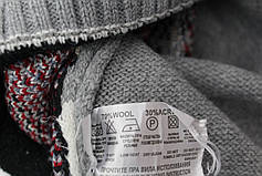 Вязаные женские шерстяные свитера оптом и в розницу G 4627, фото 3