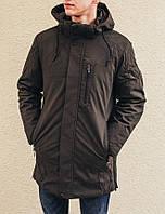 Зимняя куртка INDACO IC654C Черний, фото 1