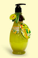 Крем-гель для душу Освіжаючий з оливковою і мандариновою олією 400 мл VivaOliva