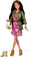 "Кукла Барби ""Модница Делюкс"" Саммер (Barbie Style Summer Doll with Pink Paisley Dress and Jacket)"