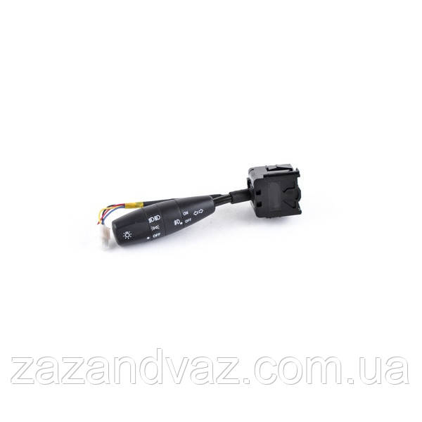 Ручка переключатель света сигнала поворотов с противотуманкой (рычаг тубуса) Ланос Lanos Сенс ShinKum 96242526