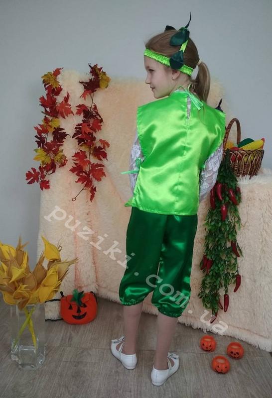 8c4d152fb82 Карнавальный костюм зеленого Горошка для детей за 260 грн. в ...