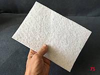 Губка 160 х 230 мм для полировки и очистки поверхностей, безабразивный нетканный материал, белый