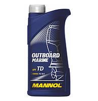 Моторное масло Mannol Outboard Marine API TD (1L)