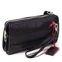 Мужской клатч кожаный чёрный Eminsa 5091-18-1, фото 2