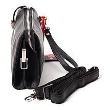 Мужской клатч кожаный чёрный Eminsa 5091-18-1, фото 3