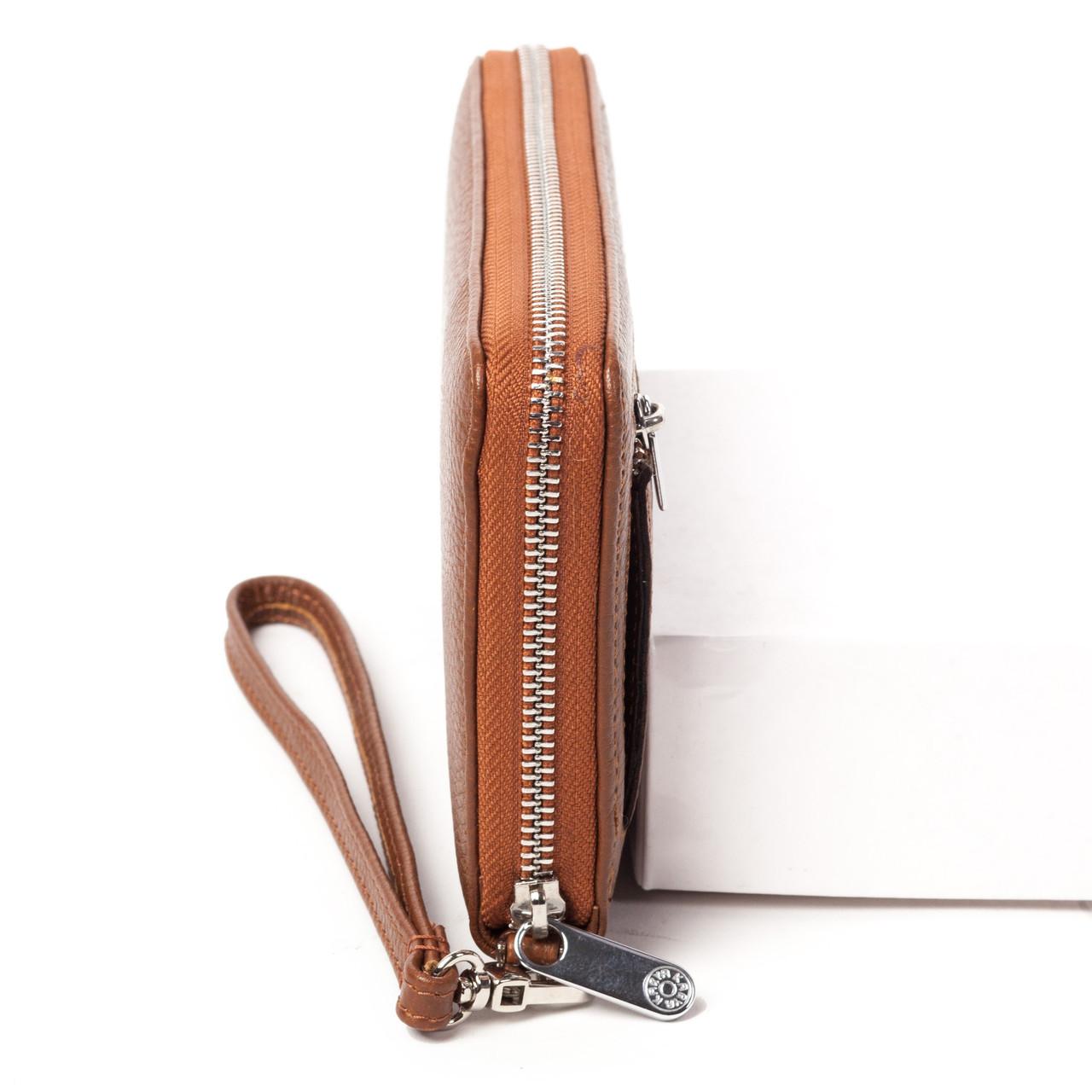 da4ca8f14045 ... Клатч-кошелек Karya 0706-38 мужской кожаный коричневый 3 ...