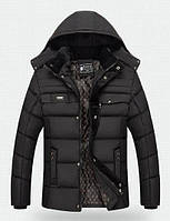 Стильная зимняя куртка с капюшоном   утепленная холлофайбер от Barbour