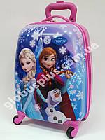 """Детский чемодан дорожный """"Josef Otten"""" Frozen-7, Холодное сердце на четырех колесах 520332, фото 1"""