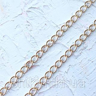 Цепочка металическая  крупная Z12-3, цвет золото