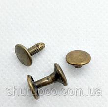 Хольнитен двухсторонний 7 мм антик (50 шт/уп)